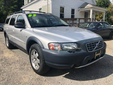 2003 Volvo XC70 for sale at Specialty Auto Inc in Hanson MA