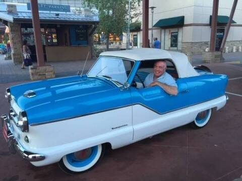 1954 Nash Metropolitan for sale at Classic Car Deals in Cadillac MI