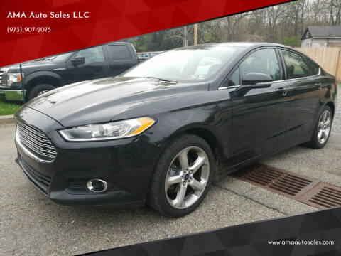 2014 Ford Fusion for sale at AMA Auto Sales LLC in Ringwood NJ