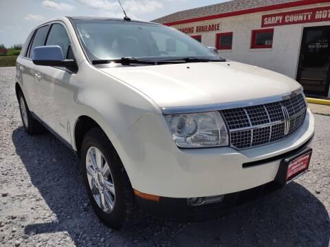 2008 Lincoln MKX for sale at Sarpy County Motors in Springfield NE