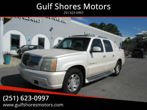2004 Cadillac Escalade EXT for sale at Gulf Shores Motors in Gulf Shores AL
