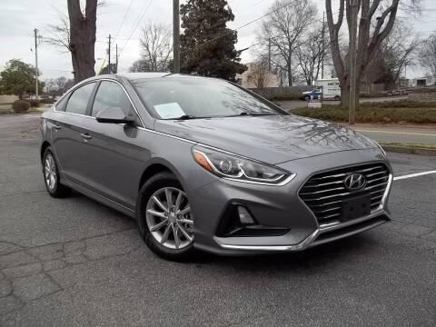 2018 Hyundai Sonata for sale at CORTEZ AUTO SALES INC in Marietta GA