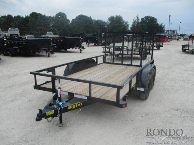 2022 Big Tex Utility 60PI-12BK4RG2B for sale at Rondo Truck & Trailer in Sycamore IL