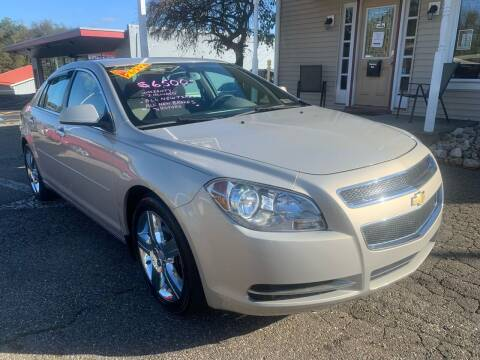 2012 Chevrolet Malibu for sale at G & G Auto Sales in Steubenville OH
