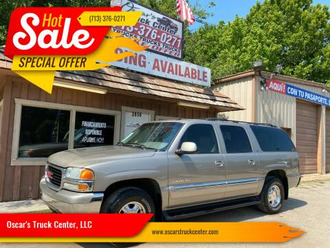 2002 GMC Yukon XL for sale at Oscar's Truck Center, LLC in Houston TX