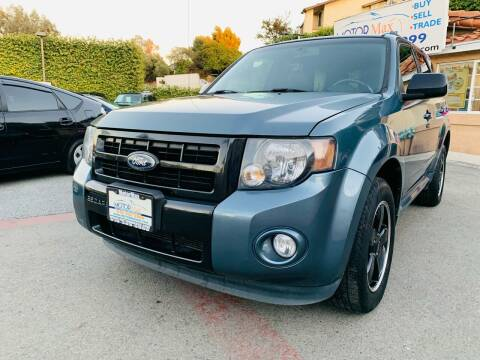 2011 Ford Escape for sale at MotorMax in Lemon Grove CA