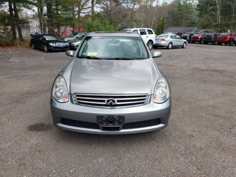 2005 Infiniti G35 for sale at 1st Priority Autos in Middleborough MA