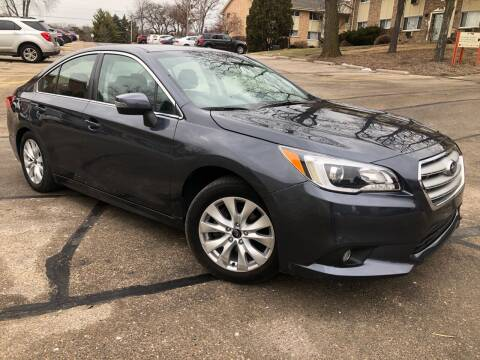 2017 Subaru Legacy for sale at Wyss Auto in Oak Creek WI