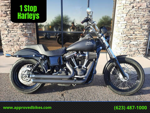 2014 Harley-Davidson Dyna Street Bob FXDB-103 for sale at 1 Stop Harleys in Peoria AZ