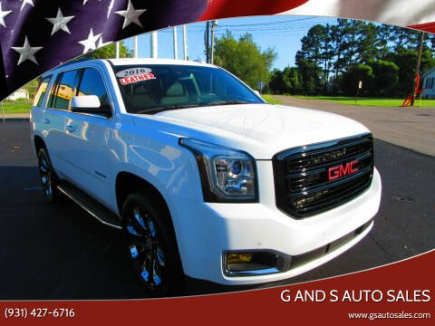 2016 GMC Yukon for sale at G and S Auto Sales in Ardmore TN