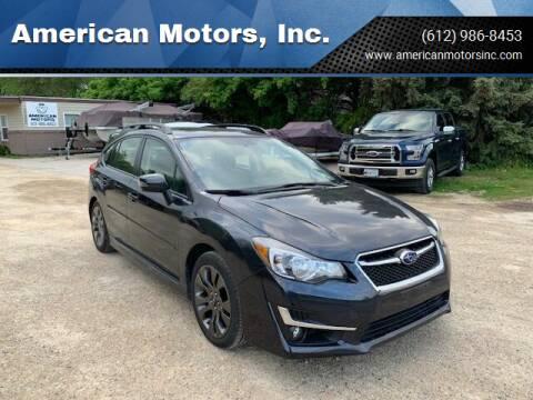 2015 Subaru Impreza for sale at American Motors, Inc. in Farmington MN