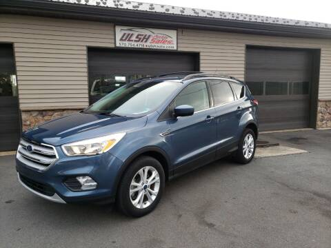 2018 Ford Escape for sale at Ulsh Auto Sales Inc. in Summit Station PA