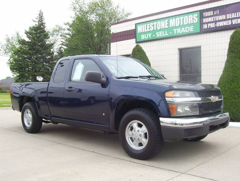 2007 Chevrolet Colorado for sale at MILESTONE MOTORS in Chesterfield MI