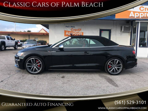 2018 Audi S5 for sale at Classic Cars of Palm Beach in Jupiter FL