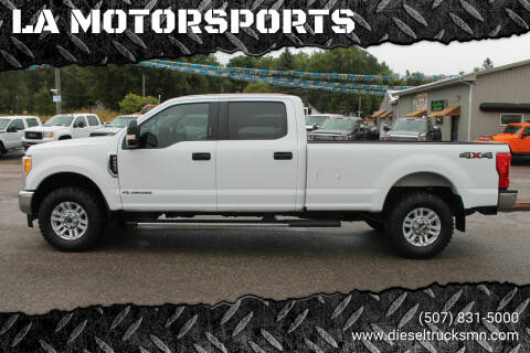 2017 Ford F-350 Super Duty for sale at LA MOTORSPORTS in Windom MN