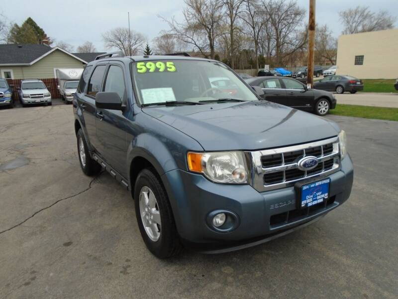 2010 Ford Escape for sale at DISCOVER AUTO SALES in Racine WI