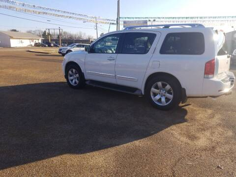 2010 Nissan Armada for sale at Frontline Auto Sales in Martin TN