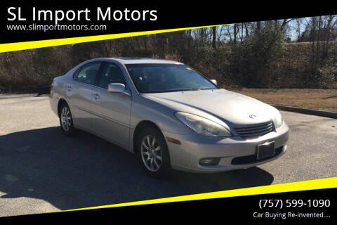2002 Lexus ES 300 for sale at SL Import Motors in Newport News VA