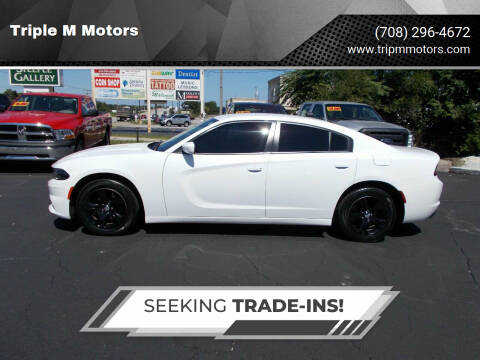 2017 Dodge Charger for sale at Triple M Motors in Saint John IN
