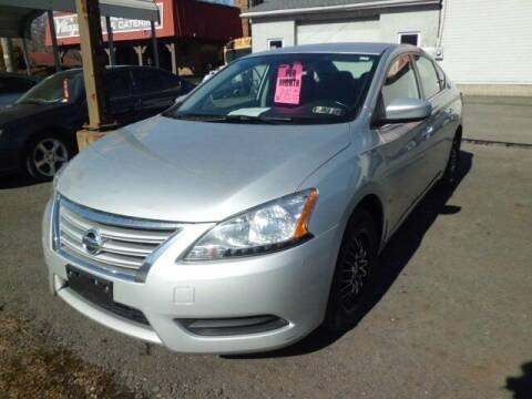 2015 Nissan Sentra for sale at Automotive Toy Store LLC in Mount Carmel PA