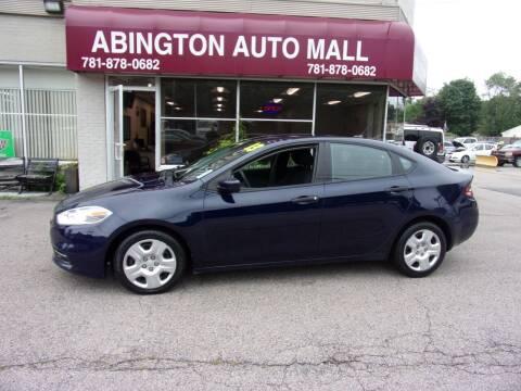 2013 Dodge Dart for sale at Abington Auto Mall LLC in Abington MA
