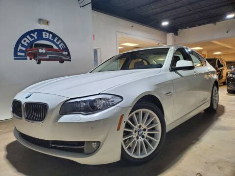 2013 BMW 5 Series for sale at Italy Blue Auto Sales llc in Miami FL