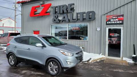 2014 Hyundai Tucson for sale at EZ Tire & Auto in North Tonawanda NY