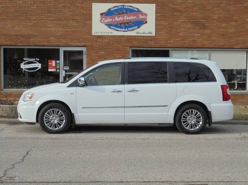 2014 Chrysler Town and Country for sale at Eyler Auto Center Inc. in Rushville IL