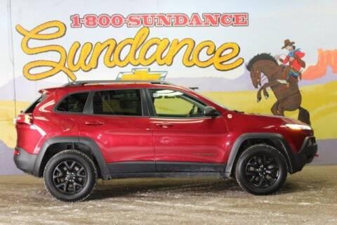 2016 Jeep Cherokee for sale at Sundance Chevrolet in Grand Ledge MI