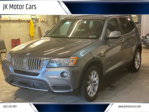 2014 BMW X3 for sale at JK Motor Cars in Pittsburgh PA