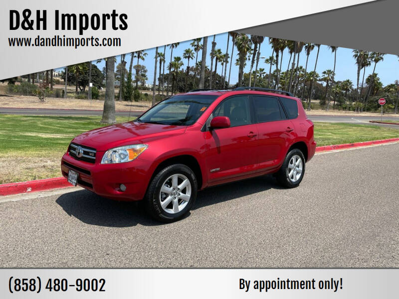 2008 Toyota RAV4 for sale at D&H Imports in San Diego CA