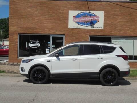 2019 Ford Escape for sale at Eyler Auto Center Inc. in Rushville IL