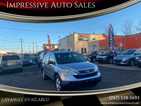 2009 Honda CR-V for sale at Impressive Auto Sales in Philadelphia PA