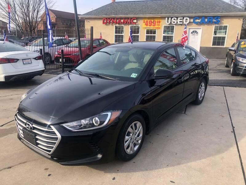 2017 Hyundai Elantra for sale at DYNAMIC CARS in Baltimore MD