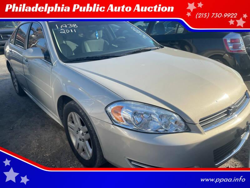 2011 Chevrolet Impala for sale at Philadelphia Public Auto Auction in Philadelphia PA