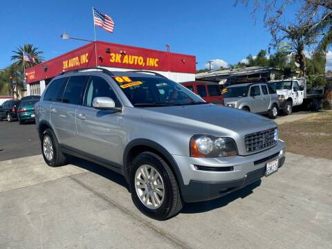 2008 Volvo XC90 for sale at 3K Auto in Escondido CA