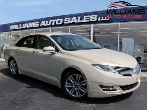 2014 Lincoln MKZ for sale at Williams Auto Sales, LLC in Cookeville TN