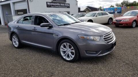 2013 Ford Taurus for sale at McMinnville Auto Sales LLC in Mcminnville OR