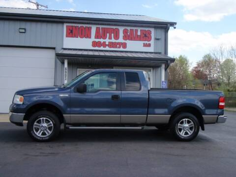2006 Ford F-150 for sale at ENON AUTO SALES in Enon OH