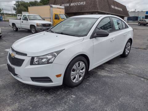 2013 Chevrolet Cruze for sale at Hern Motors - 111 Hubbard Youngstown Rd Lot in Hubbard OH