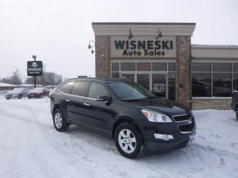 2012 Chevrolet Traverse for sale at Wisneski Auto Sales, Inc. in Green Bay WI