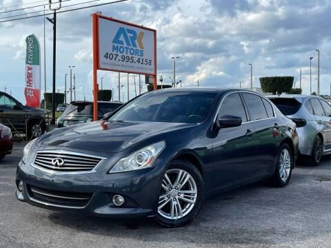 2010 Infiniti G37 Sedan for sale at Ark Motors in Orlando FL