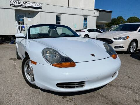 1999 Porsche Boxster for sale at KAYALAR MOTORS in Houston TX
