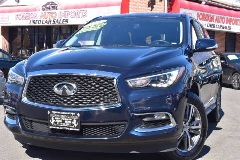 2019 Infiniti QX60 for sale at Foreign Auto Imports in Irvington NJ