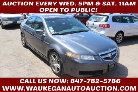 2006 Acura TL for sale at Waukegan Auto Auction in Waukegan IL
