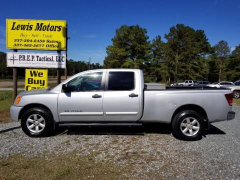 2009 Nissan Titan for sale at Lewis Motors LLC in Deridder LA