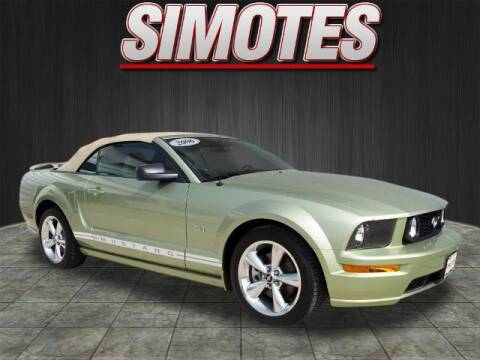 2006 Ford Mustang for sale at SIMOTES MOTORS in Minooka IL