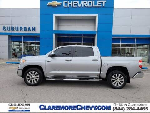2015 Toyota Tundra for sale at Suburban Chevrolet in Claremore OK