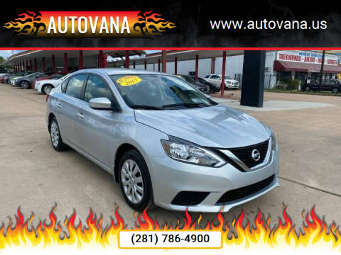 2017 Nissan Sentra for sale at AutoVana in Humble TX
