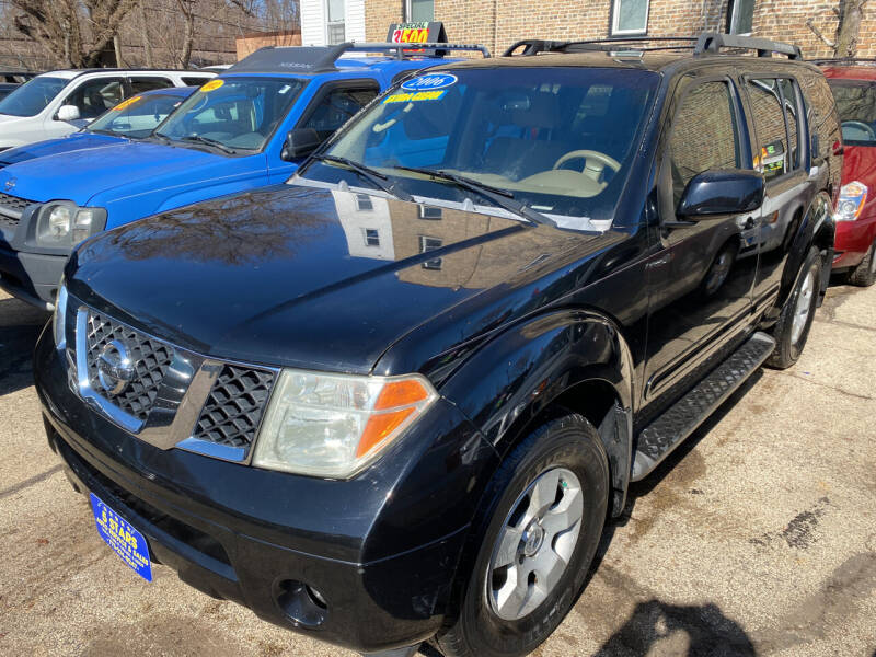 2006 Nissan Pathfinder for sale at 5 Stars Auto Service and Sales in Chicago IL